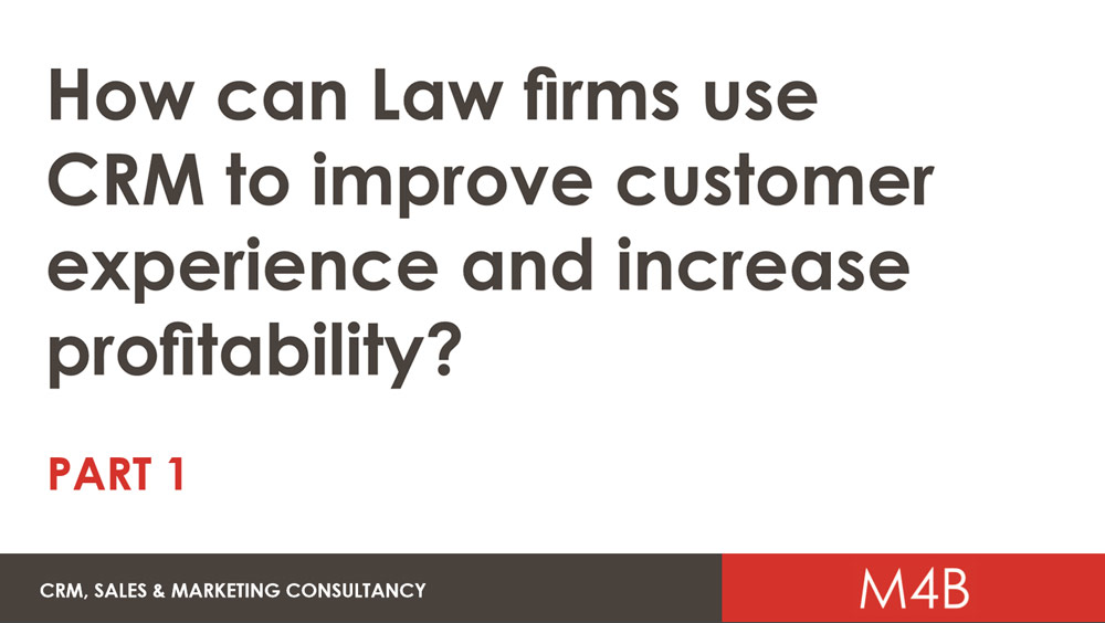 5 tips for Law Firms for getting the most out of your CRM