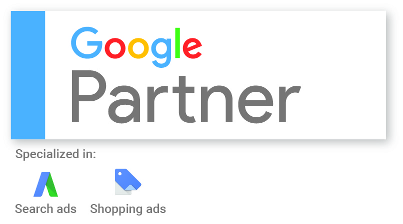 Google Partner M4B Receive Google Shopping Specialisation