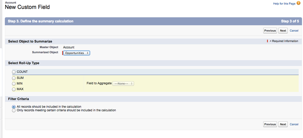 Salesforce Declarative Lookup Rollup Summaries - Resources - M4B Ltd