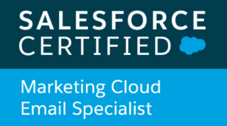 M4B Achieve Further Salesforce Success With Marketing Cloud Email Specialist Accreditation