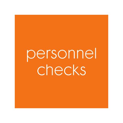 Personnel Checks
